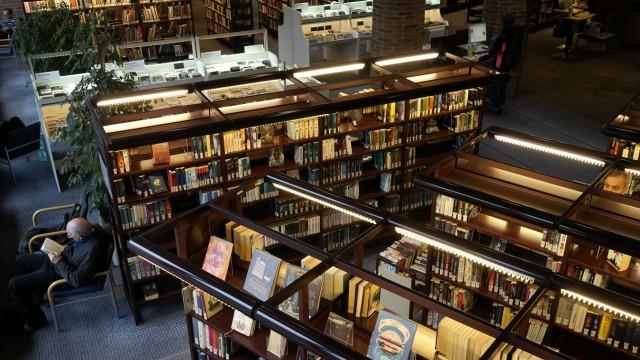 Stadtbibliothek im Gasteig in München, 2017