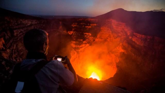 Nicaragua Masaya-Vulkan in Nicaragua