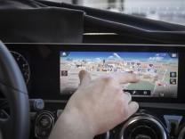 Mercedes-Benz auf der Consumer Electronics Show (CES, 2018) in Las Vegas