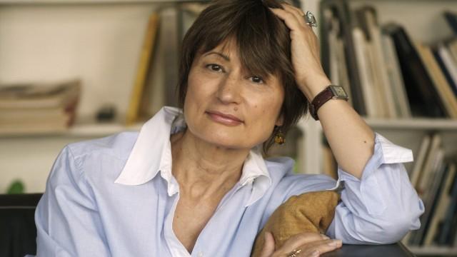 April 16 2016 Paris France Catherine Millet at home Credit Paris France PUBLICATIONxINxGER