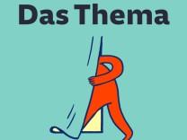 Das Thema Logo Quadrat
