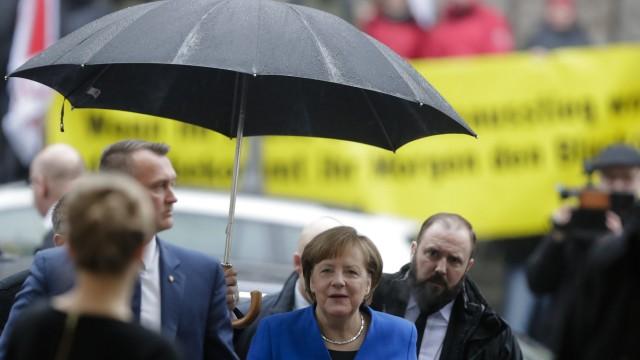 Martin Schulz Sondierungsgespräche