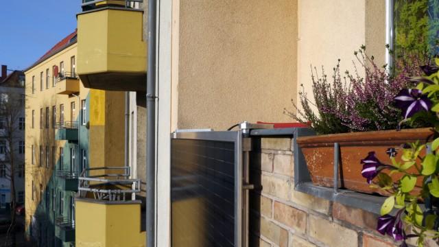 Mini-Solarmodule sind nun inDeutschland erlaubt