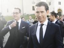 Klausurtagung der Bundesregierung in Österreich