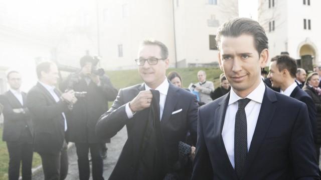Politik Österreich Vom Wunderwuzzi zum Anti-Macron