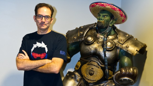 Games Jeff Kaplan, let's talk about money