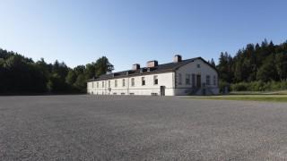 Germany Bavaria Flossenbuerg View of concentration camp memorial site PUBLICATIONxINxGERxSUIxAUTx