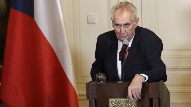Tschechen wählen Präsidenten