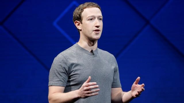Facebook-Gründer Mark Zuckerberg spricht in San Jose
