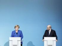 Abschluss der Sondierungen von Union und SPD