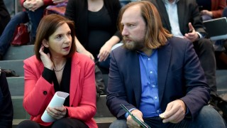 Abschluss Fraktionsklausur der Grünen im Bundestag