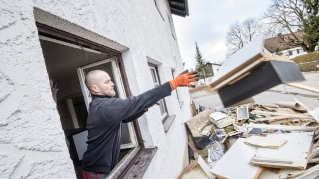 Stockdorf Abriss desGasthofs Oberland in Stockdorf