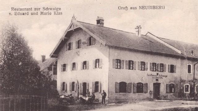 Schwaige Ottobrunn Serie 100 Jahre