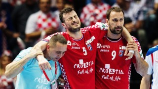 Handball EM: Kroatien - Serbien