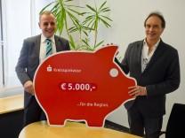 Sozialpsych. Dienst 5000.- EUR Spende von KSKMSE