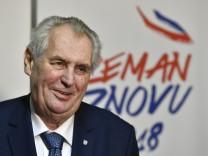 Präsidentenwahl in Tschechien