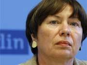 Berlins Justizsenatorin Gisela von der Aue (SPD) stellt sich gegen Bundesinnenminister Schäuble. Foto: dpa