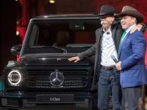 Detroit Auto Show 2018 - Mercedes