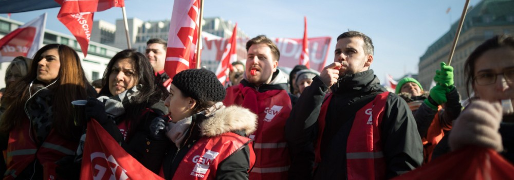 Warnstreik Tarifverhandlungen Öffentlicher Dienst Berlin Warnstreik zu den Tarifverhandlungen im öff