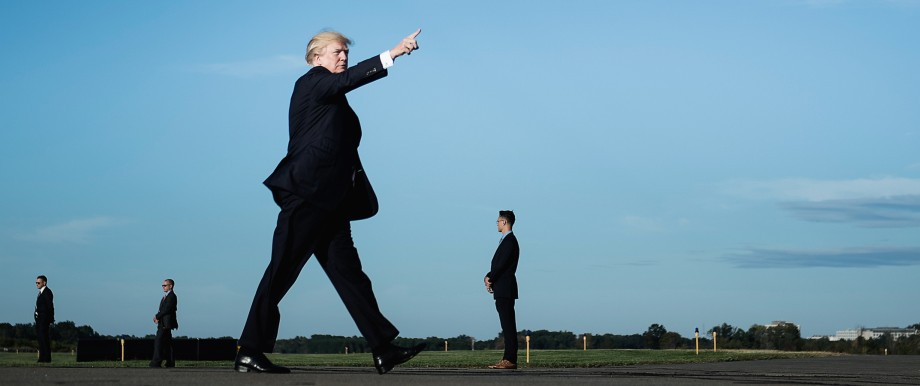 Politik USA US-Präsident Donald Trump