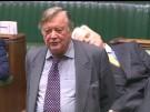 Abgeordneter schläft während Brexit-Debatte ein (Vorschaubild)