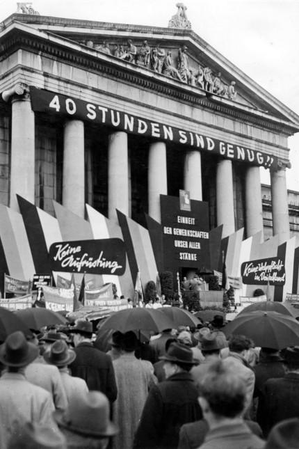 Maikundgebung in München, 1956