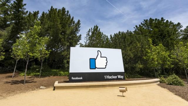 Menlo Park 25 April 2017 Facebook Inc Firmensitz in Menlo Park Kalifornien PUBLICATIONxINxGERx
