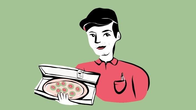 Wie ich euch sehe Wie ich euch sehe: Pizzalieferant