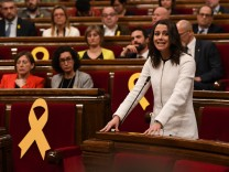 First Session Of The New Catalan Parliament Is Held