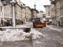 Marktstraße Winter 2018