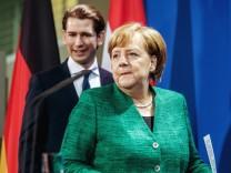 ÷sterreichischer Bundeskanzler in Berlin