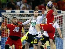 Handball-EM: Deutschland gegen Mazedonien