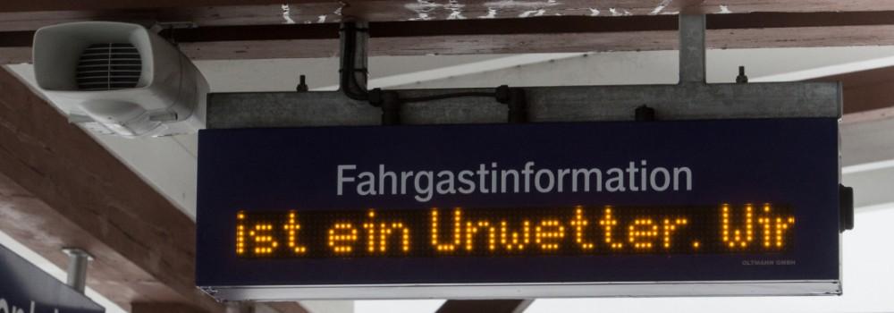 Sturmtief 'Friederike' - Baden-Württemberg