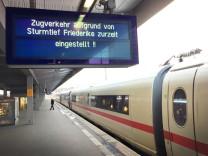 Sturmtief 'Friederike' - Nordrhein-Westfalen