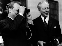 Willy Brandt und Kurt Georg Kiesinger, 1968