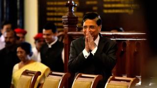 MUMBAI INDIA NOVEMBER 4 Chief Justice of India Justice Dipak Misra CM Devendra Fadnavis alongwi