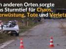 Sturm fegt über Deutschland hinweg (Vorschaubild)