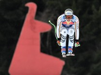 Ski alpin Weltcup in Kitzbühel - Abfahrstraining
