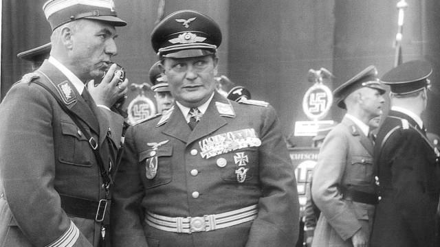 Fritz Todt und Hermann Göring in Nürnberg, 1938
