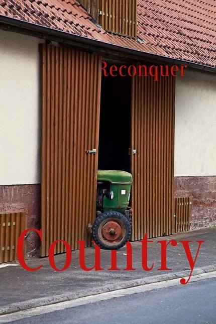 Traktor in Scheune