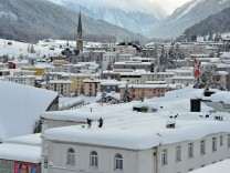 Davos Prepares To Host The World Economic Forum