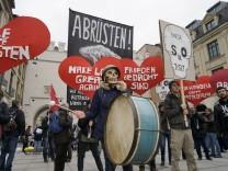 Demonstration gegen 53. Münchner Sicherheitskonferenz, 2017
