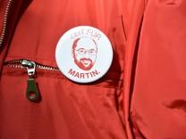 Martin Schulz Anstecker im Bundestagswahlkampf 2017