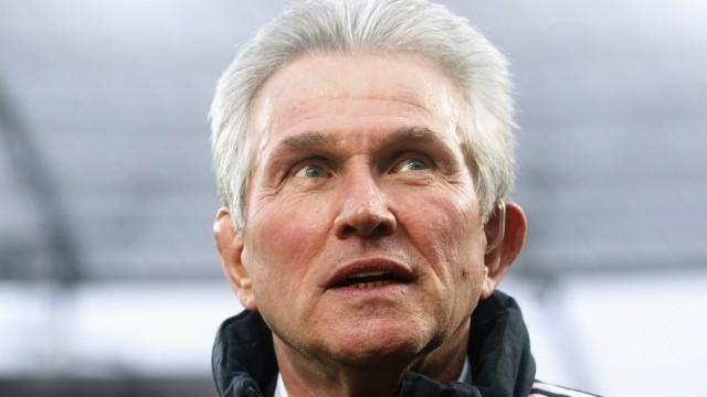 HEYNCKES Jupp Trainer Team FC Bayern Muenchen DFL Fussball Bundesliga Spiel Bayer 04 Leverkusen FC