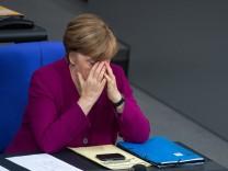 Angela Merkel Kanzlerin Union SPD Große Koalition