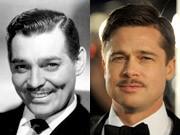 Clark Gable, Brad Pitt