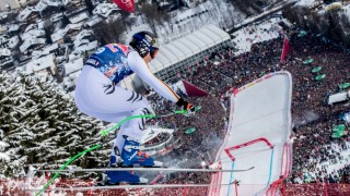 Alpine Skiing World Cup in Kitzbuehel, Austria - 20 Jan 2018