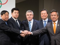 180120 LAUSANNE Jan 20 2018 Lee Hee beom president of the PyeongChang Organizing Committ