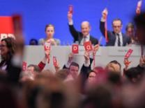 Außerordentlicher SPD-Parteitag