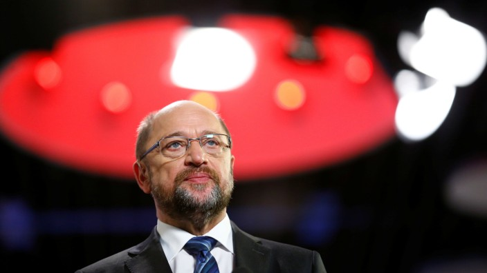 SPD leader Schulz SPD attends the SPD's one-day party congress in Bonn